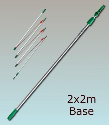 01 :  Téléplus Base 2x2m (4m)